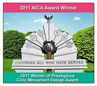 2011 American Institute of Commemorative Art Award Winner